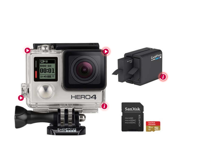 GoPro Hero3+: Black Edition Action Bundle [BOOM] [BIRDS CRYING] [WATER SLOSHING] He came here about three months ago. He swam in off the lake after a big storm, and he couldn't fly.